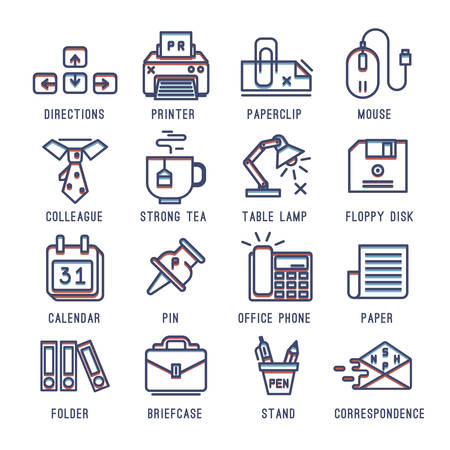 missive: Set of icons