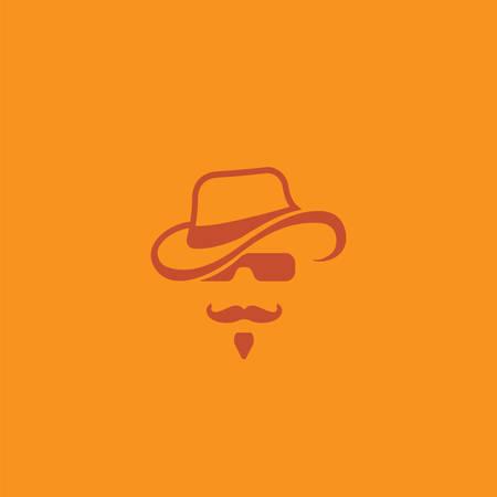 Eenvoudig vector logo in een moderne stijl.