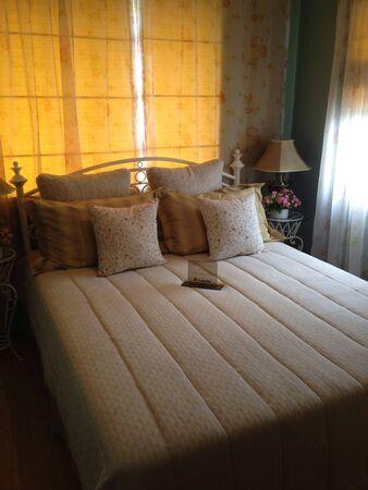 master bedroom: Master bedroom Stock Photo