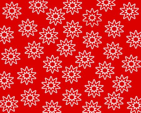 Papel vermelho com estrelas brancas