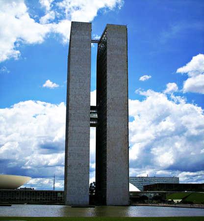 building in the Brazilian capital Stock Photo - 13364983