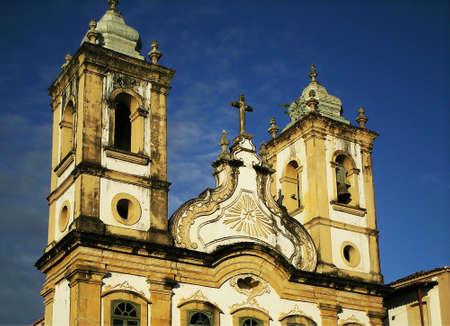 restauration: Brazilian church tower