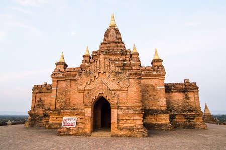 Tempel im Morgenlicht, Bagan, Myanmar