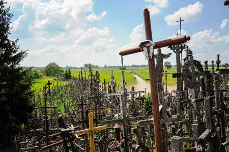 Der Berg der Kreuze in Litauen Wallfahrtsort
