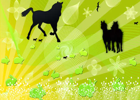 funding of science: Horse Stock Photo