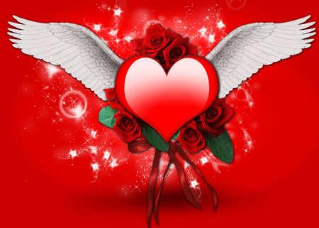 funding of science: Valentine Stock Photo