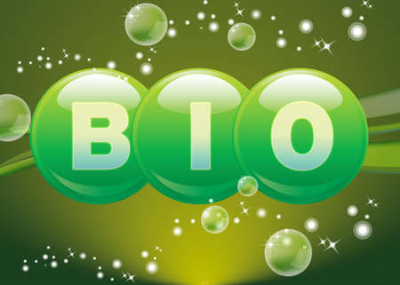 symbole: Bio Stock Photo