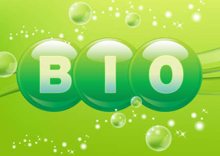 sain: Bio Stock Photo