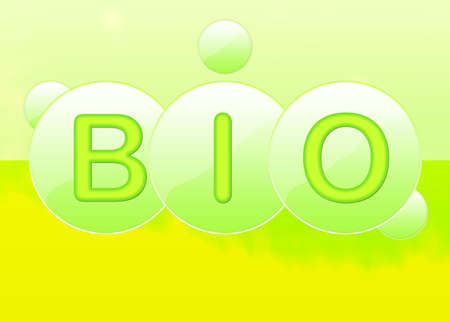 abstrait: Bio Stock Photo