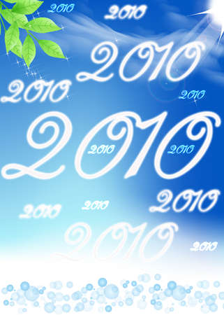 abstrait: 2010 Stock Photo