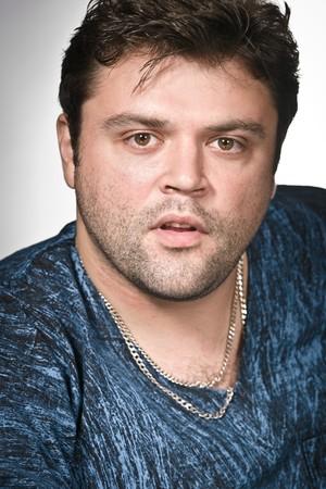 Facial portrait of some impulsive man Stock Photo - 7420659