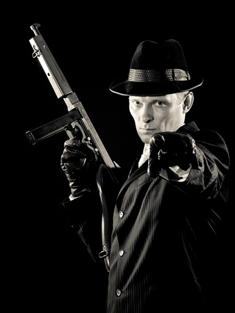 chicago gangster. armed and special dangerous