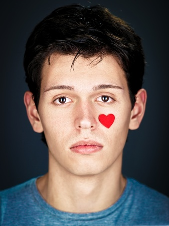 portrait of amorous young man Stock Photo - 8785455