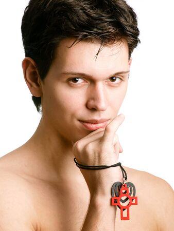 ardent: Handsome man con sguardo ardente