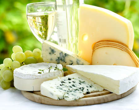 queso: queso y el vino