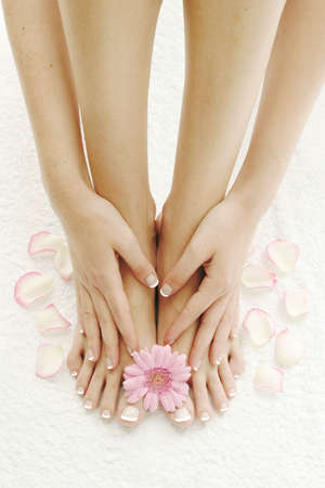 manicure and pedicure: Spa and wellness