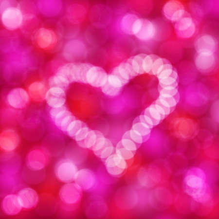 heart on a holiday background  photo