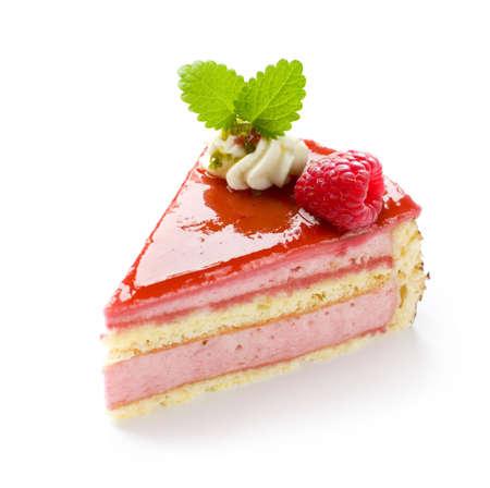 slice cake: Lampone torta