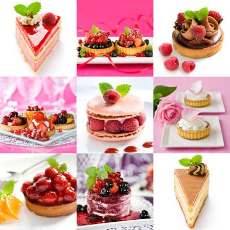 composition: Beautiful food collage