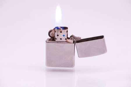 cigarette lighter: Cigarette Lighter on a white background.