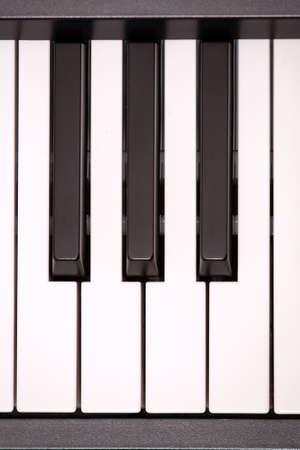 octave: Piano keys.