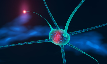impulses: neuronal communication through electrical impulses generated in 3d