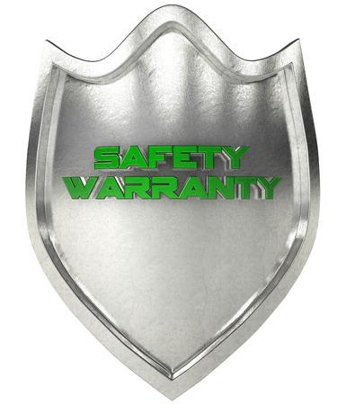 escudo: Escudo de acero con la verificaci�n s�mbolo de representaci�n 3D Foto de archivo