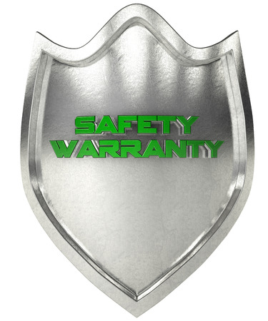 3d shield: steel shield with the symbol verification 3d rendering