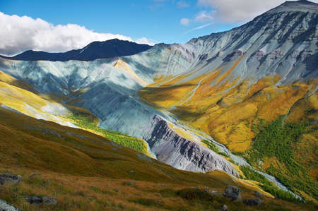 altay: Beautiful mountains, Altay, Russia-01 Stock Photo