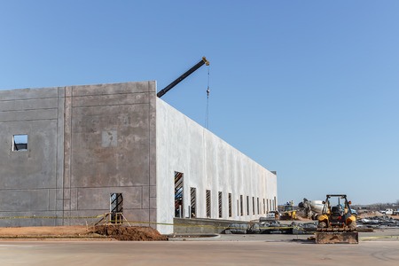 warehouse building: Building a warehouse in Oklahoma City
