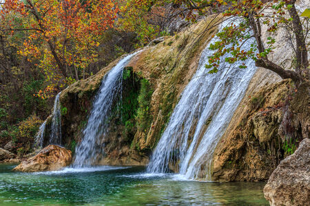 turner: Turner Falls in the Arbuckle Mts