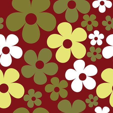 Vector Burgundy Seamless Pattern Background