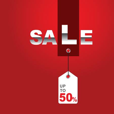 Sale Illustration