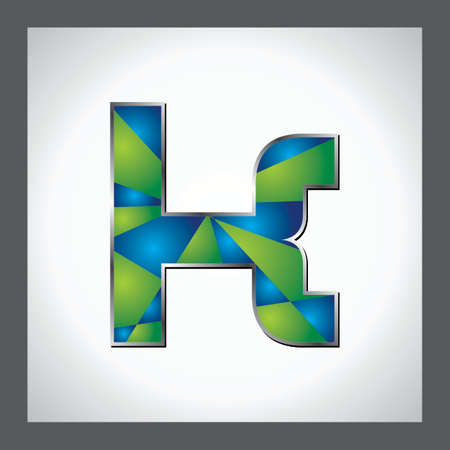 Green Alphabet photo