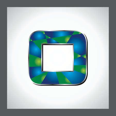 numerical value: Green Alphabet Stock Photo