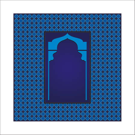 islamic art arch photo