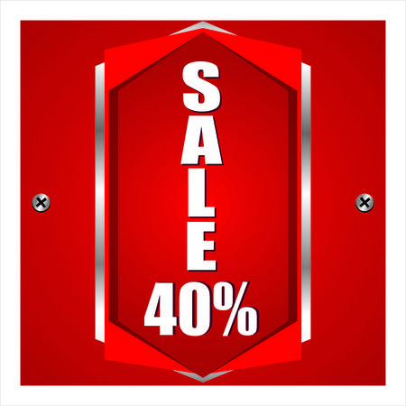 give away shop: Sale Illustration