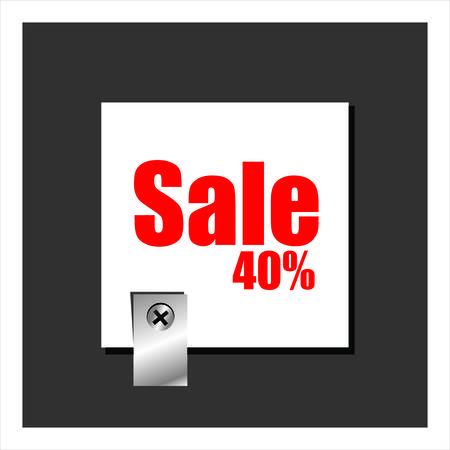 cut away: Sale Illustration