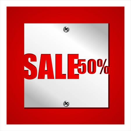 cut away: Sale percent