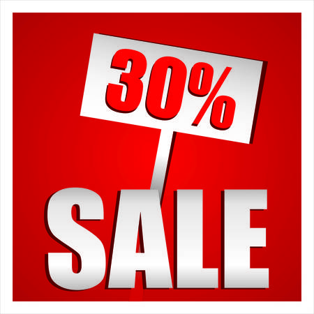 give away shop: Sale percent