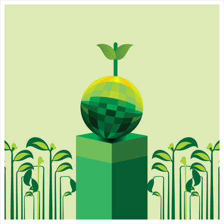 Gardening, agriculture   harvesting  Vector illustration