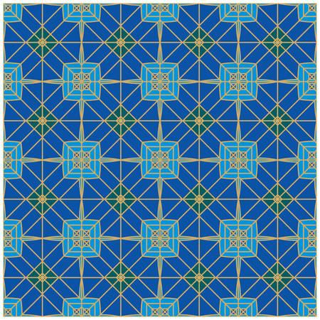 Geometric Seamless Pattern Vetores