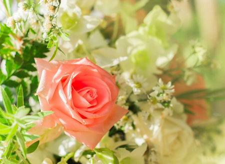 Wedding Bouquet flowers background