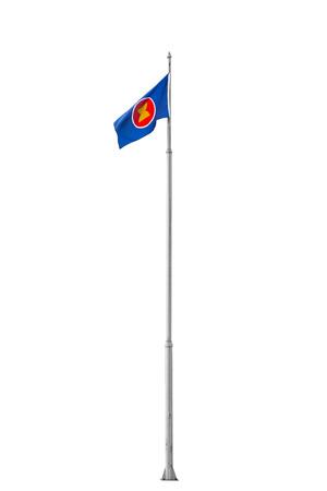 aec: Flag of AEC (ASEAN Economic Community) Editorial
