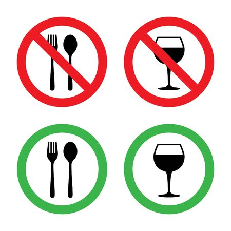no alcohol: Food and Drink icon Stock Photo