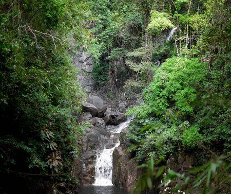 namtok: Waterfall : Namtok Phlio National Park,  Chanthaburi, Thailand