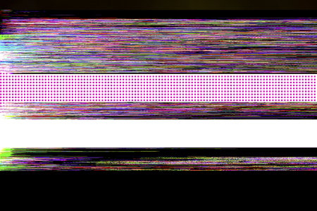 glitch: Glitch screen background Stock Photo