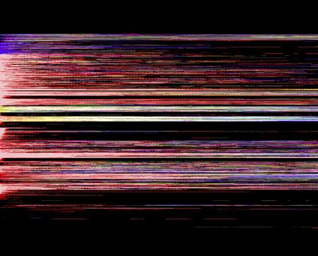 Glitch Art Banco de Imagens