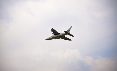 fighter plane: Fighter plane in the sky