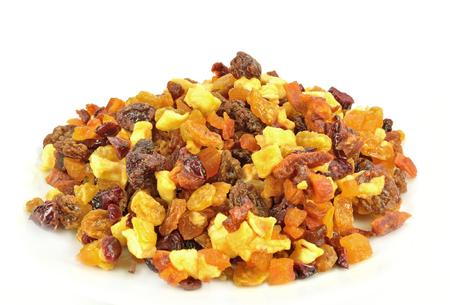 Closeup of a pile of fruit bits. Banco de Imagens